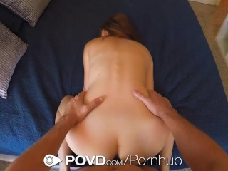 Povd lost in her eyes miley cole fucks donkey dick with facial