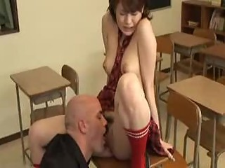 Asian School Girl Fantasy Scene