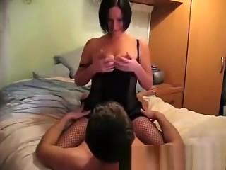 Big tits horny MILF rides cock