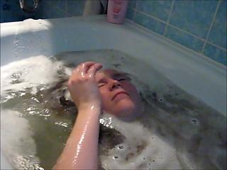 In der Badewanne