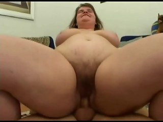 Fucking Fat BBW Nympho Ex GF with Hairy Pussy, p3