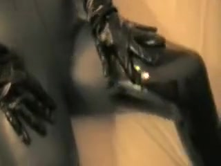 Incredible homemade Latex, Fetish adult clip