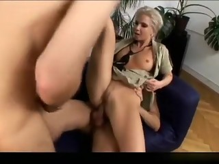 Fabulous pornstar in best dp, blonde sex scene