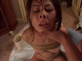 Horny Japanese chick Chiharu Okina, Kaori Ezaki in Amazing Fetish JAV movie