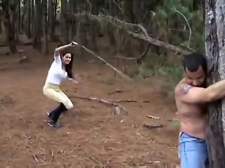 Incredible homemade Outdoor, Spanking xxx clip