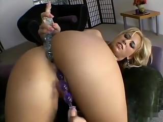 Hottest pornstar Georgia Peach in best dp, facial sex clip