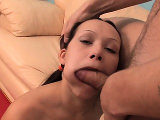 Hothead chick rides schlong and gets fucked in other poses