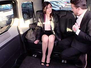 Kinky with a cabbie