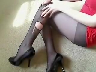 Fabulous amateur Fetish, High Heels sex clip