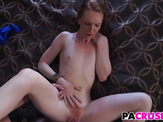 Pops Teaching His Sultry Stepdaughter Katy Kiss