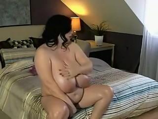 Horny BBW, Big Tits adult video
