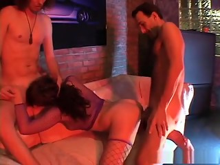 Exotic pornstar in horny european, threesomes sex movie
