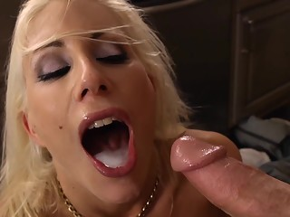 She asks him for the size of his cock