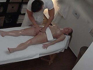 Busty Married Teacher Gets Massage of Her Life