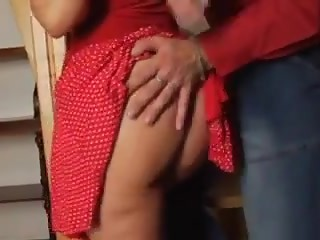 Hot milf and her younger lover 727