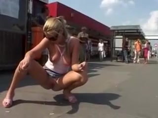 Fabulous Homemade clip with Softcore, Public scenes
