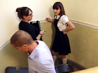Student's sexy lesson
