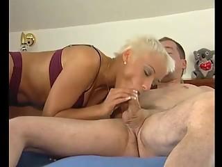 horny euro blonde babe