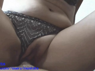 My pussy filled of cum. compilation creampies. montsita