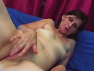 Skinny cutie gets banged from behind