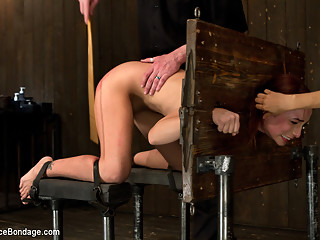 Amber Rayne in Breaking Amber Rayne Anal fisting, double penetrated, and suffers through brutal torm