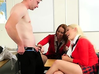 Cocked Punished Their Horny Students