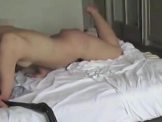 Wife Whipped on Bed