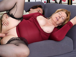 Penny Sue & Eric John in Horny Grannies Love To Fuck #12 - DevilsFilm