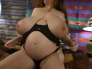 Hottest homemade Pregnant, Solo Girl adult clip