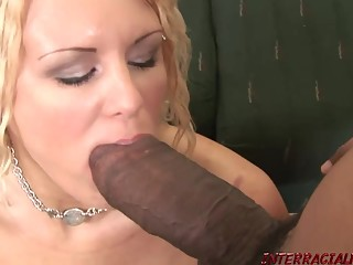 Soccer Mom takes monster black dick