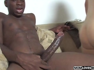 Two huge black dicks for mom Kitty Caulfield