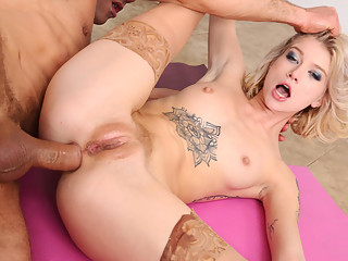Arya Fae loves big dick anal sex