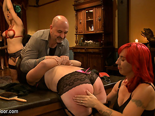 Dylan Ryan & Odile in Community Dinner: Correcting O And Debauching Siouxie - TheUpperFloor