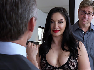 Don't mind the husband