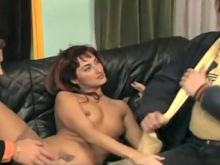 Incredible Stockings, DPP porn scene