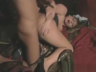 Exotic pornstar Janet Joy in amazing straight, brunette porn video