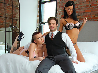 Samantha Dior in High Class Threesome - PegasProductions