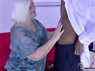 AgedLovE Busty Milf Interracial Fuck